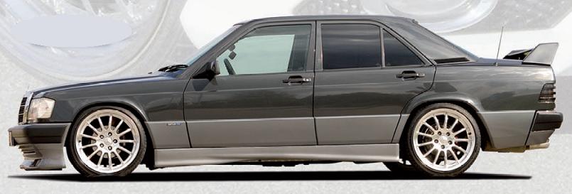Спойлер на крышку багажника Mercedes 190 W201 RIEGER | VAG-tuning
