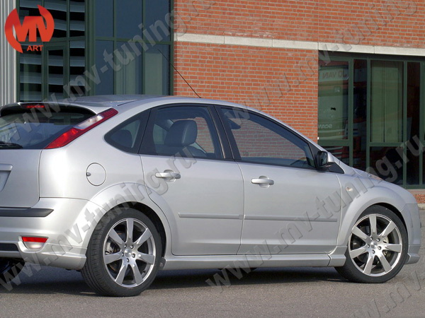 "Пороги ""MS"" Ford Focus 2"