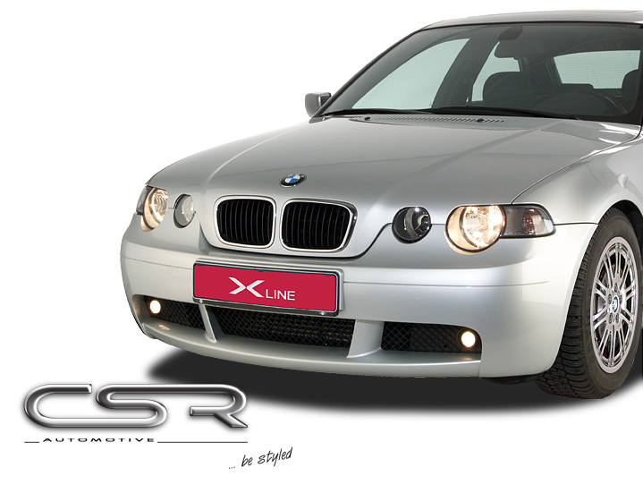 Бампер передний BMW 3er E46 Compact 98-07 CSR Automotive