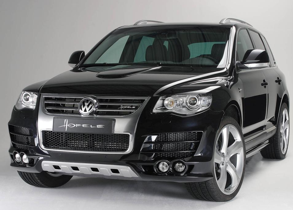 "Решетка радиатора VW Touareg 7L 07-10 ""Chrome"" HOFELE"