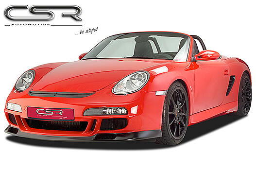 Передний бампер Porsche Boxster 987 04-/ Cayman 987 11.05- CSR Automotive SX-Line FSK987RS