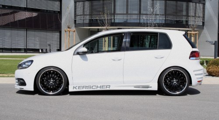 Пороги VW Golf MK 6 KERSCHER TUNING