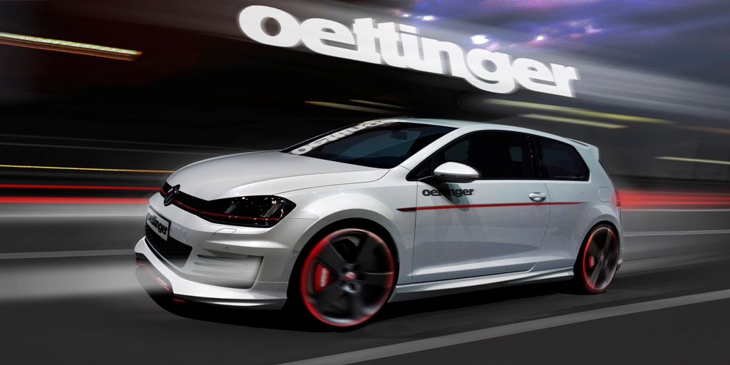 Пороги VW Golf 7 Oettinger