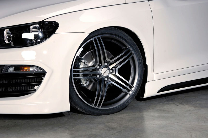 Пороги VW Scirocco 3 Typ 13 RIEGER