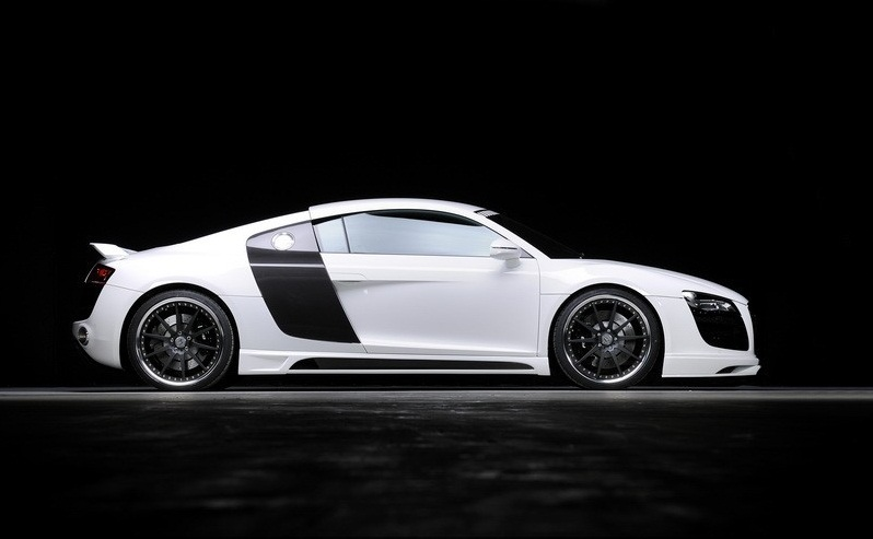 Пороги Audi R8 Typ 42 Carbon-Look RIEGER