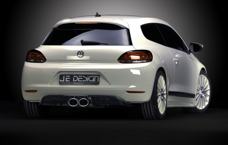 ���� ������� ������� VW Scirocco 3 Carbon-Look JE DESIGN