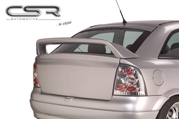 Спойлер на крышку багажника Opel Astra G 98-04 хетчбэк высокий VAG-tuning