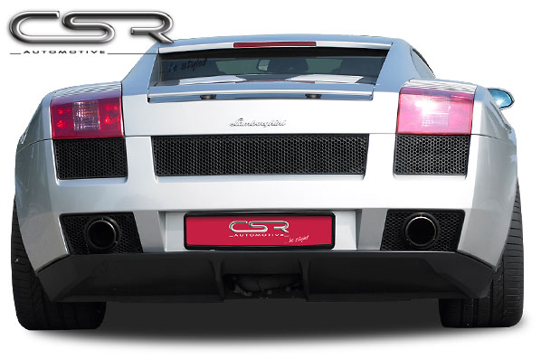 Бампер задний Lamborghini Gallardo LP500 Coupe/ Spyder 2003- CSR Automotive