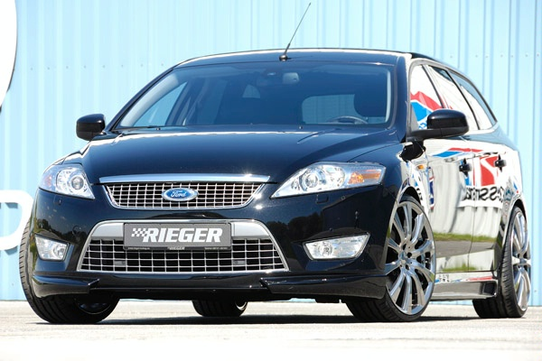 Пороги Ford Mondeo BA7 Carbon-Look RIEGER