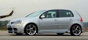 Пороги VW Golf 5 03- 3/ 5-doors/ Jetta 1 KM RIEGER