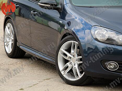 Пороги накладки Volkswagen Golf 5 6 и Octavia 2 (A5) в стиле R