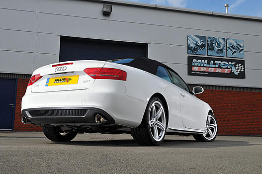��������� ������� Milltek Sport ��� Audi A5 ����/ ��������� 2.0 TFSI (manual only) � 2009 �. � ����� GT100