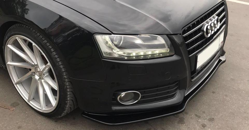 Купить запчасти для внешнего тюнинга и аэродинамические обвесы для автомобиля Ауди А5 дорестайлинг 1 поколения