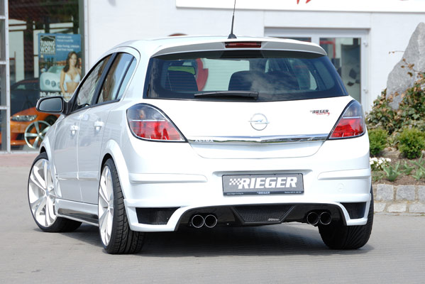 ����� Opel Astra H GTC + Twin Top 3-� ��. �� ������ ������� RIEGER Carbon-Look