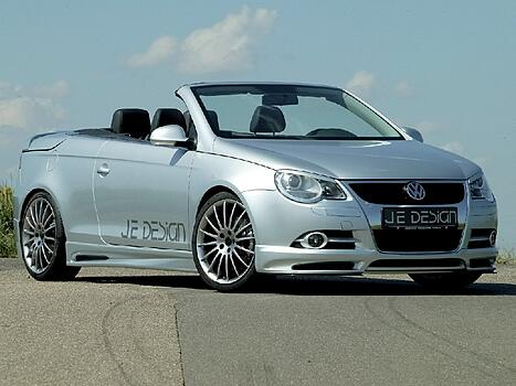 Пороги VW Eos 1F JE Design