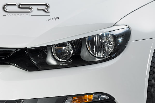 Реснички на передние фары для VW Scirocco 3 CSR Automotive