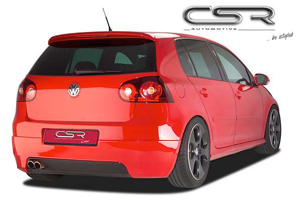 Юбка заднего бампера VW Golf MK 5 Typ 1K 03-08 CSR Automotive X-Line