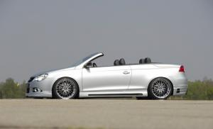 Пороги VW Eos Carbon-Look RIEGER
