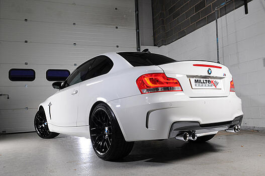 [PRIMARY CAT-BACK] Выхлопная система Milltek Sport для BMW 1 Series M Coupé (E82) с 2011 г. Quad 80mm GT80