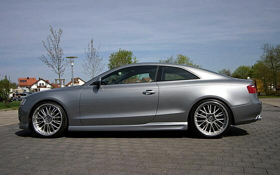 Пороги Audi A5 / S5 Coupe / Cabrio JMS Tuning
