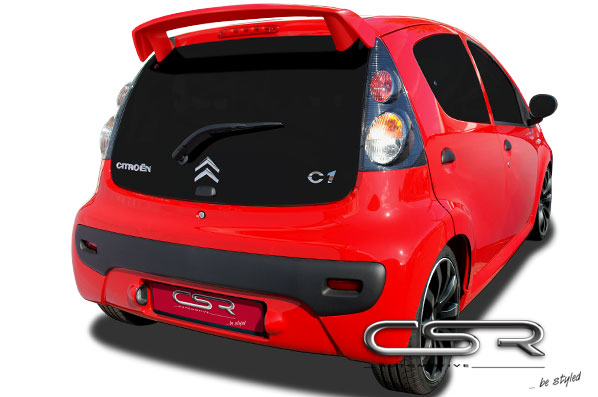 Спойлер Citroen C1 05-08 CSR Automotive