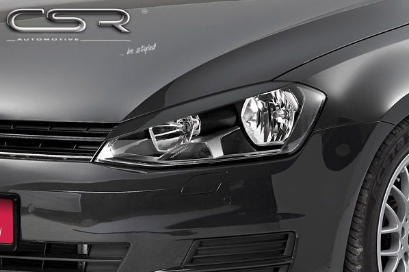 Реснички на передние фары VW Golf Mk7 CSR-automotive