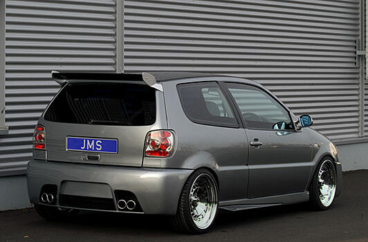 Бампер задний  VW Polo 6N JMS Tuning