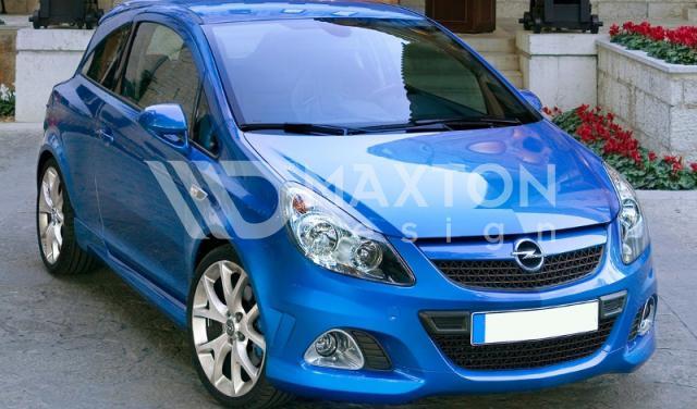 Аэродинамические обвесы Opel Corsa D купить в интернет-магазине с отзывами, фотографиями ценами тюнинга.
