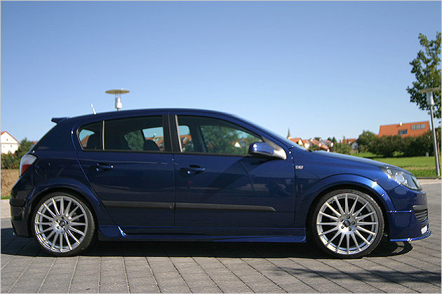 Пороги Opel Astra H/ GTC JMS Tuning