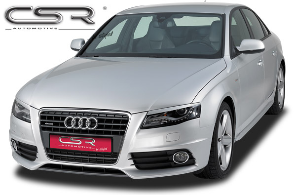 Реснички на передние фары Audi A4 B8 (Typ 8K) CSR Automotive